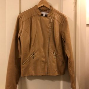 NewYork and Co faux leather jacket